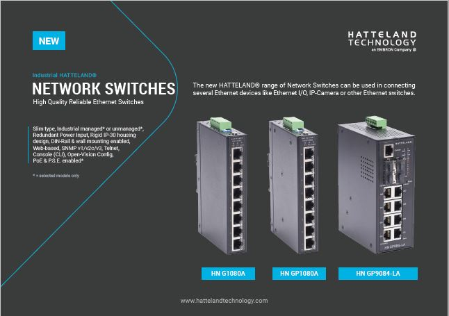 Hatteland-Network-switches
